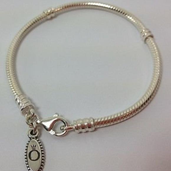 f79514027ca Pandora Jewelry | Sterling Silver Lobster Clasp Bracelet | Poshmark